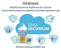 WEBINAR: Sichere und DSGVO-konforme Unternehmenskommunikation und Datenspeicherung