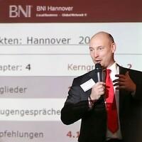 Business Network International mit 135 Teilnehmenden in der HDI-Arena