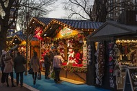 Auf Weihnachtsmärkten gibt