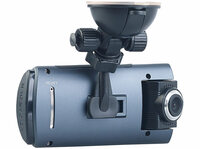Full-HD-Dashcam MDV-1915.dual mit 2 Objektiven, 150° Ultra-Weitwinkel, Sony-Sensor