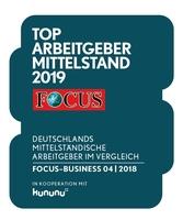 Focus-Business: mayato Top Arbeitgeber Mittelstand 2019