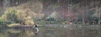 EMIKO behandelt See in Troisdorfer Wald- und Vogelpark