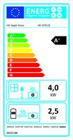 Wärmebedarf und Effizienz im Einklang: Energielabel macht den Ofen transparent