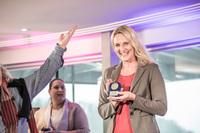 Am Anfang war es nur ein Traum... Sabine Stollberger berührt und gewinnt mit ihrem Vortrag auf der 1. Speaker Cruise der Welt auf dem Rhein