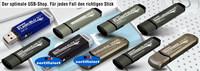 Kanguru USB-3.0 Sticks in verschiedenen Farben, mit Schreibschutz und Seriennummer bis zu 512GB verfügbar