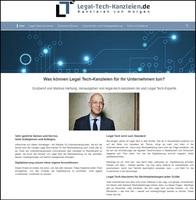 Erstes Legal Tech-Verzeichnis für Unternehmensjuristen
