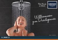 Willkommen zum Duschgenuss