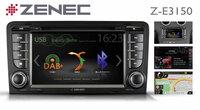 Versatile Infotainer: ZENEC Z-E3150 for the AUDI A3