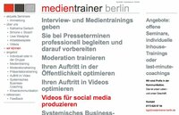 Interview- und Medientraining