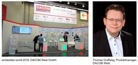 """Sense – Store – Connect"": DACOM West präsentiert Embedded-Technologien etablierter Hersteller"