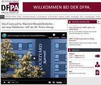 Neuer Hotelfonds: Dr. Peters Group nutzt Contentmarketing-Angebote der Deutschen Finanz Presse Agentur DFPA