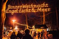 """Weihnachtsmarkt """"Engel, Licht & Meer"""" im Ostseebad Binz"""