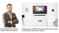 Yamaha und FIBARO kooperieren für Smart Home-Entertainment