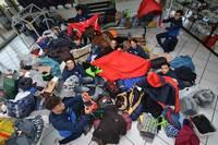 """Winterfest"" - Flüchtlinge aus Afghanistan helfen Obdachlosen"