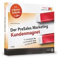 """Pushen Sie Ihr Unternehmen an die Spitze mit dem Hörbuch """"Der PreSales Marketing Kundenmagnet"""""""