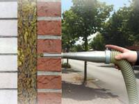 Der Lückenfüller: Einblasdämmung sorgt für günstigen Wärmeschutz
