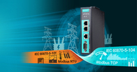 Neue Modbus/ IEC 101-zu-IEC 104 Protokoll-Gateways