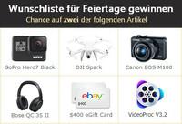 Digiarty lanciert Gewinnspiele mit GoPro, DJI Drohne und mehr, um den VideoProc V3.2 Release zu feiern
