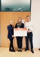 Weihnachtstombola: FALK und MELCHERS spenden 3.000 Euro für Deutsche Leukämie-Forschungshilfe