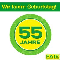 FAIE faiert 2019 das 55jährige Jubiläum!