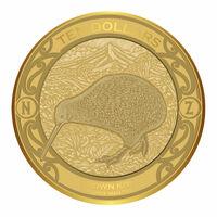 Neuseeland Kiwi Goldmünze 2019 gibt es nur 500 mal weltweit