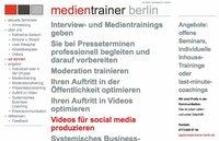 Interview- und Medientraining mit Journalisten