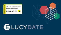 Einfach. Weiter. Bilden: ELUCYDATE ist mit seinen neuesten Online Trainings und einem Vortrags-Highlight auf der Learntec 2019