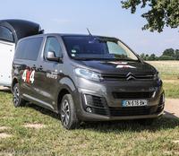 Pferdeanhänger-Zugfahrzeugtest Citroën Spacetourer auf Mit-Pferden-reisen.de