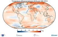 Die letzten vier Jahre waren die Wärmsten aller Zeiten – Zudem steigen die CO2-Werte weiter