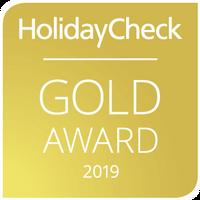 showimage Das DolceVita Hotel Feldhof gewinnt bereits zum dritten Mal den berühmten HolidayCheck Gold Award
