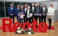showimage Ein Job fürs ganze Leben: Wolf ehrt langjährige Mitarbeiter