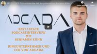 ADCADA Chef Benjamin Kühn im Podcast-Gespräch