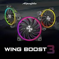 showimage BRANDNEU bei Caseking - Alpenföhn Wing Boost 3 RGB Lüfter vereinen starke Kühlperformance mit beeindruckender Beleuchtung.