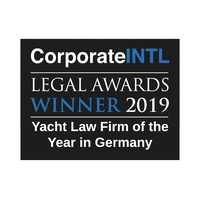Yacht Law - Law Firm of the Year in Germany 2019