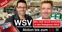 WSV 2019 bei schuhplus: 30% Rabatt auf Schuhe in Übergrößen für Damen und Herren