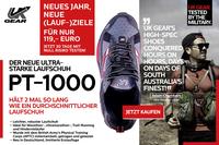 Halten mehr als 1.000 Meilen: Hochleistungs-Sportschuhe von UK Gear jetzt auch in Deutschland erhältlich