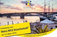 Mainz.MICE Branchentreff am 14. März 2019 im KUZ
