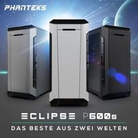 NEUHEIT bei Caseking - Der PHANTEKS Eclipse P600S Midi-Tower vereint das Beste aus zwei Welten.