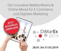 DiMarEx - Rekordverdächtige 2.500 Anmeldungen zur virtuellen Messe
