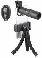 Somikon 11-teiliges Smartphone-Vorsatz-Linsen-Set