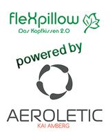 """flexpillow Kissen bei AEROLETIC Relax - Rückenschmerzen vorbeugen und Haltung verbessern - featured in SAT1 Sendung """"Wie genial ist das denn!"""""""