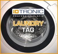 iDTRONICs RFID Polyester Laundry Tag – Textilien sicher identifizieren