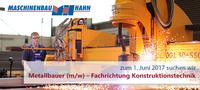 Maschinenbau Hahn: Duale Ausbildung sichert das Handwerk