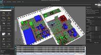 DUALIS auf der LogiMAT 2019: Vorausschauende Fabrikplanung und -optimierung in 3D