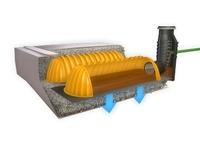 Patentierte Rigole - jetzt mit integrierter Filtration