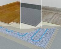 IndorTec THERM-E: Elektro-Fußbodenheizung auch für Designböden