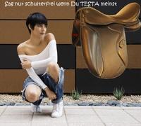 Schulterfreie Testa- Sättel in der günstigen ECO-Version