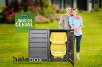 """Innovative Mülltonnenbox in MDR-Sendung """"Einfach Genial"""" vorgestellt"""