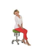 Schwingender Fitness-Hocker für gesundes Sitzen im Alltag