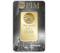 Goldzukauf in regelmäßigen Schritten